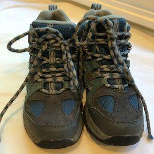 LLBean Boy's size 1 Boots - Lots of Adventure Left